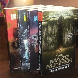 The Maze Runner Books 1-4 Excellent Condition